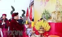 Vietnamitas en Polonia rinden tributo a los fundadores del país
