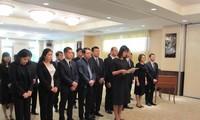 Homenaje póstumo al expresidente vietnamita Le Duc Anh en Japón