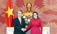 Vietnam valora la amistad tradicional con China, afirma presidenta del Parlamento