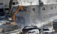Démolition de maisons palestiniennes près de Jérusalem