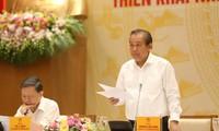 Por mejorar la lucha contra crímenes en Vietnam