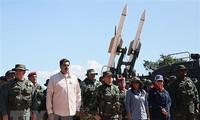 Venezuela realiza ejercicios a gran escala en el Caribe
