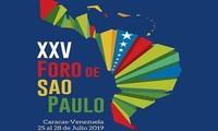 Celebran en Venezuela el XXV Foro de Sao Paulo