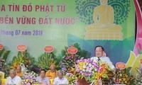 Debaten sobre papel del budismo en el desarrollo sostenible de Vietnam