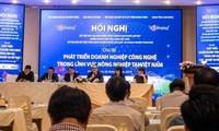 Conferencia sobre desarrollo de empresas de tecnología agrícola