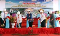 Empiezan construcción de obras para preservación del patrimonio Lo Vong Cung en zona sureña