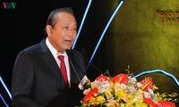 Viceprimer ministro de Vietnam asiste al 520 aniversario de la fundación de provincia de Cao Bang