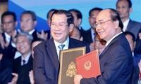 Prensa camboyana valora resultado de la visita a Vietnam de Hun Sen