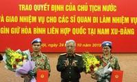 Dos militares vietnamitas se unirán a la misión de paz de la ONU en Sudán del Sur