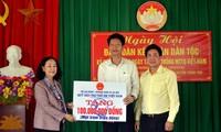 Altas dirigentes de Vietnam participan en festivales de unidad nacional