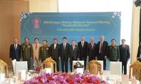 Promueven cooperación en defensa Asean y sus socios