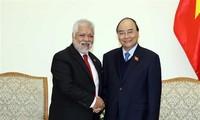 Primer ministro de Vietnam destaca aportes del embajador saliente de Venezuela