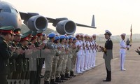 Completa Vietnam hospital de campaña a Sudán del Sur