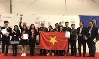 Vietnam triunfa en evento internacional de invención en Croacia