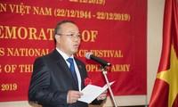 Conmemoran fundación del Ejército Popular de Vietnam en el extranjero