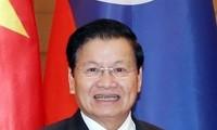 Premier laosiano copresidirá en Vietnam 42 reunión del Comité Intergubernamental binacional