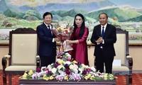 Altos funcionarios vietnamitas visitan localidades en ocasión del Tet 2020