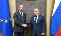 Rusia dialoga con el Consejo Europeo sobre candentes temas internacionales