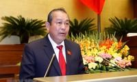 Activo vicepremier vietnamita en marco de Foro Económico Mundial 2020