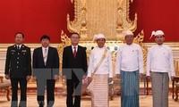 Presidente de Myanmar elogia nexos con Vietnam