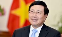 Canciller de Vietnam asiste a reunión especial de Asean sobre Covid-19
