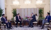 Singapur por fortalecer la cooperación multifacética con Vietnam