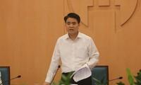 Dirigente de Hanói: la ciudad debe responder drásticamente al Covid-19