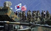 Corea del Sur y Estados Unidos realizan ejercicios militares conjuntos