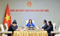 Líderes del Parlamento de Laos y Vietnam intercambian opiniones sobre el control de Covid-19