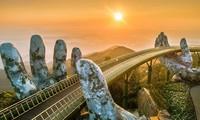 Puente Dorado de Da Nang, uno de los más bellos del mundo