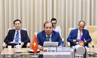 Asean trata en diálogo virtual sobre desarrollo sostenible