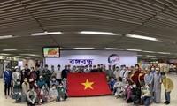 Ciudadanos vietnamitas repatriados desde el suroeste de Asia