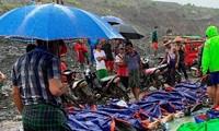 Vietnam expresa condolencias a Myanmar ante pérdidas por derrumbe de mina