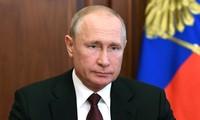 Putin agradece al pueblo ruso por su confianza
