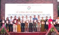Inauguran exposición de productos industriales rurales del Centro y de las Tierras Altas Centrales de Vietnam
