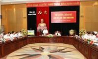 Abordan el desembolso de capital de inversión pública en la provincia de Ninh Binh