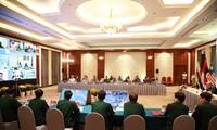 Conferencia en línea sobre el combate contra el covid-19 de Asean