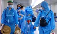 Ciudadanos vietnamitas varados en Da Nang por covid-19 regresan a Ciudad Ho Chi Minh