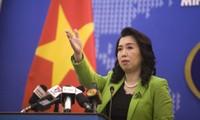 Vietnam rechaza actividades ilegales de China en el Mar del Este