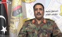 El Ejército Nacional de Libia anuncia un cese del fuego