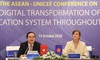 Debaten el cambio digital en sistemas educacionales de la Asean