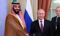 Líderes de Rusia y Arabia Saudita conversan sobre covid-19 y OPEP
