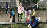 Lanzan en Ciudad Ho Chi Minh una campaña para estimular la participación infantil en la protección ambiental