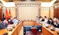 Ciudad Ho Chi Minh busca ampliar la cooperación con el Banco Mundial