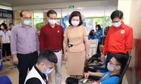 Celebran Festival de Donación de Sangre en Hanói