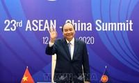 El primer ministro de Vietnam felicita a la XVII Feria China-Asean
