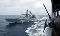 Cinco países realizan maniobras militares en el Mediterráneo oriental