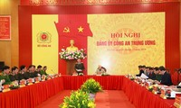 Fuerzas de Seguridad Pública de Vietnam por cumplir sus objetivos en 2021