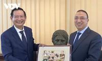 Vietnam y Egipto fortalecen la cooperación multifacética