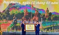 """Otorgan el título """"Monumento Nacional"""" al Área de Reliquias Históricas de Bach Dang Giang"""